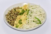 It is a vegetable noodles which is a high source of protein, fiber and calcium.