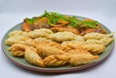 Paneer Momo platter of 30 piece veg.